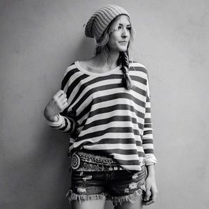Free People Tops - We the free Billie Jean striped thermal